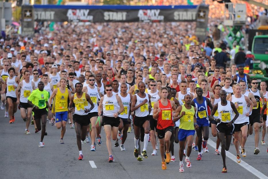 Семилетняя японка пробежала марафон