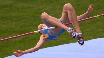 Прыгунья в высоту Слесаренко не поедет на чемпионат мира в помещениях