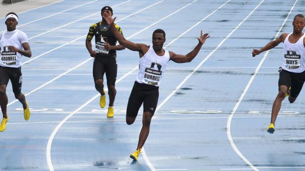 Сын экс-рекордсмена мира на 100 м устанавил личный рекорд