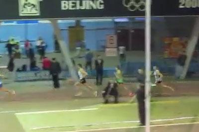 1500м финал 2 забег мужчины - Командный чемпионат Украины 2014 - Запорожье