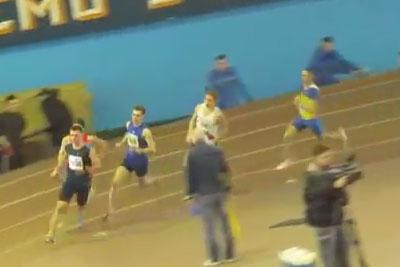 800м финал 6 забег мужчины - Командный чемпионат Украины 2014 - Запорожье