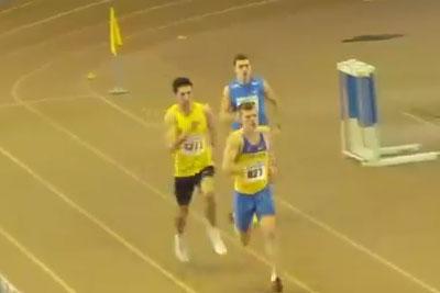 400м финал С мужчины - Командный чемпионат Украины 2014 - Запорожье