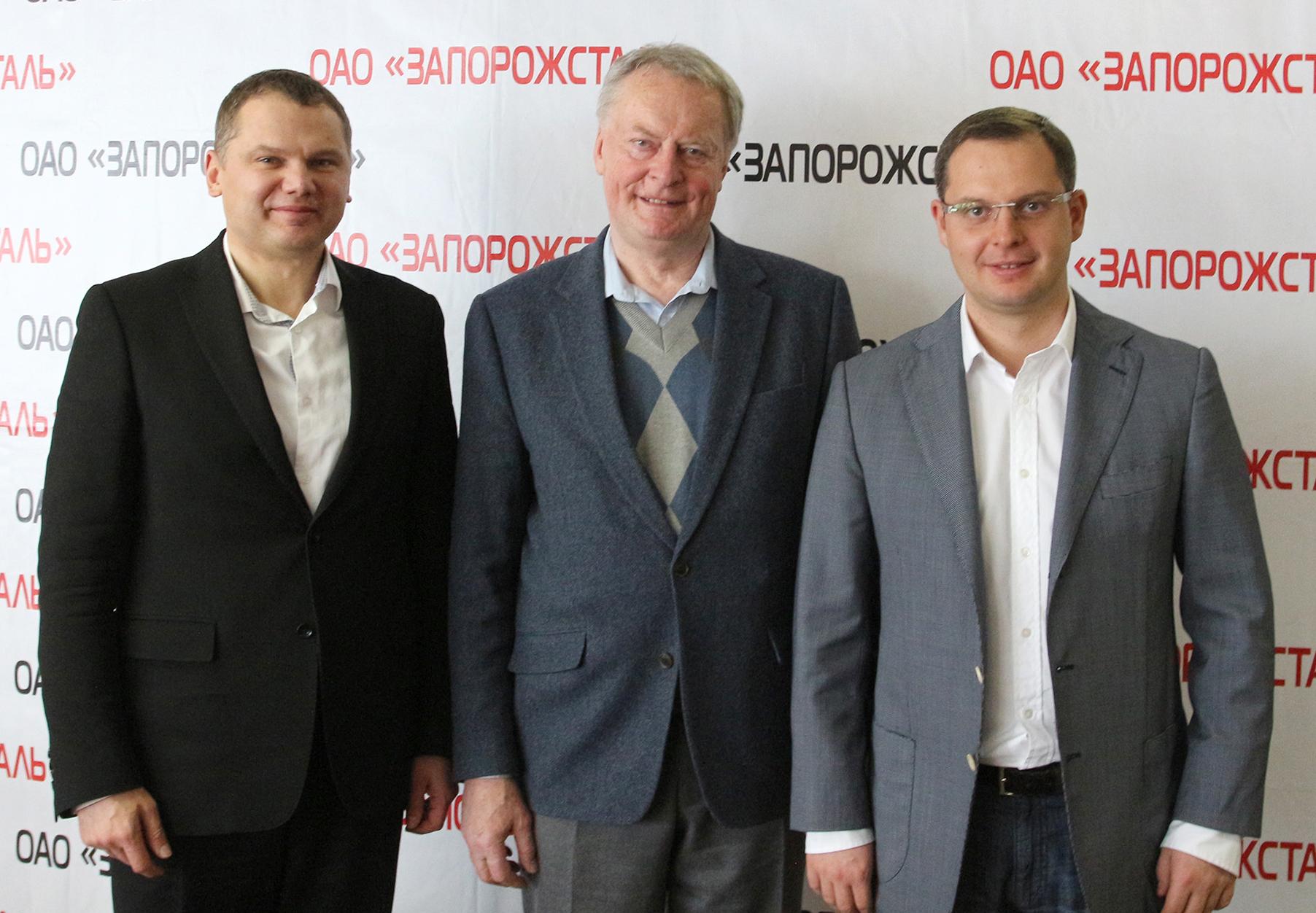 Вице-президент ЕА Карел Пыльны посетил Украину