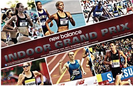 New Balance Indoor Grand Prix 2014 - Результаты + Видео