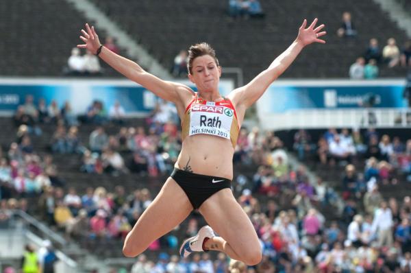 Прыжки в длину - Пятиборье - Чемпионат мира 2014 – Сопот