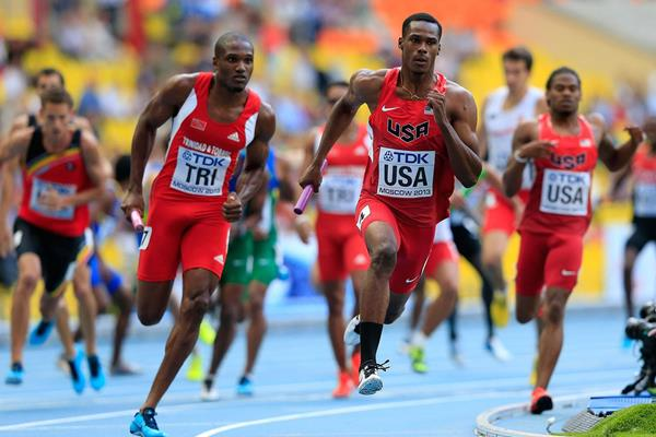 4х400 м - Мужчины - 1 круг - Чемпионат мира 2014 – Сопот + Видео