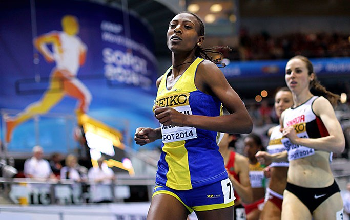 1500 м - Женщины - Финал - Чемпионат мира 2014 – Сопот + Видео