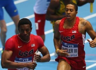 Мировой рекорд - 4х400 м - Мужчины - Финал - Чемпионат мира 2014 - Сопот + Видео