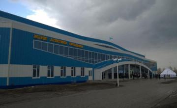 Легкоатлетический манеж имени Ольги Рыпаковой открыли в Усть-Каменогорске
