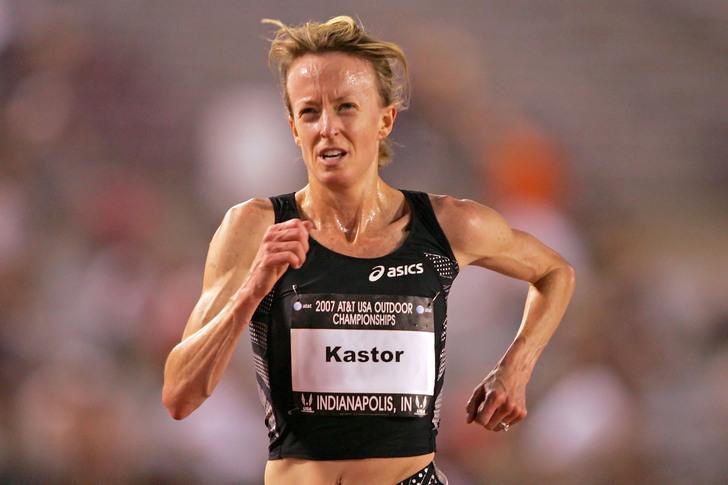 Дина Кастор установила два национальных рекорда