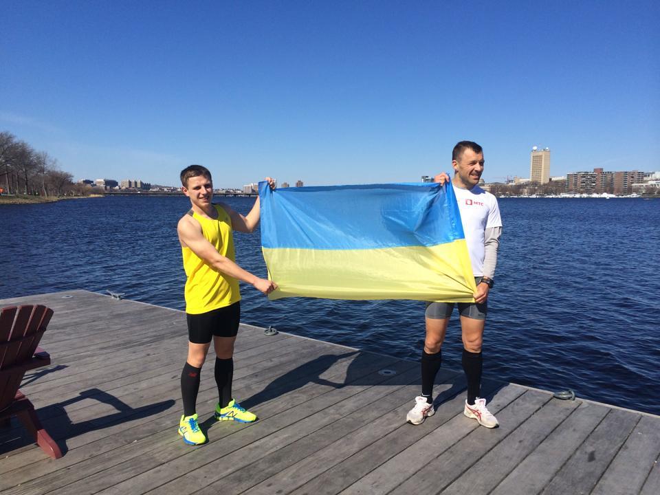 Три украинца сегодня стартуют в Бостонском марафоне