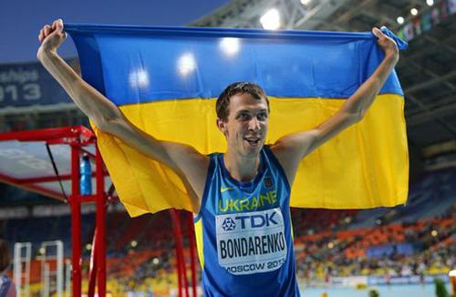 Бондаренко - спортсмен 2013 года в Украине