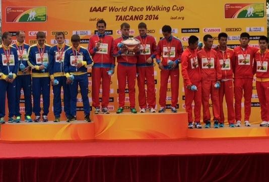 В Тайцане стартовал Кубок мира по спортивной ходьбе