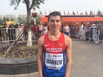 Николай Марков завоевал бронзу в спортивной ходьбе на 10 км на Кубке мира в Китае