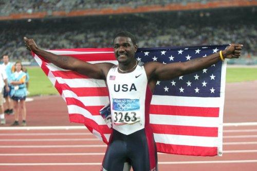 Гэтлин победил в забеге на 100 м на этапе Мирового вызова по лёгкой атлетике