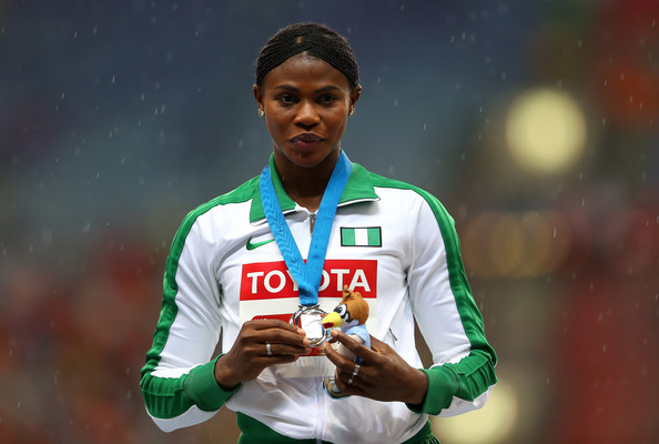 Окагбаре победила на дистанции 100 м на этапе Мирового вызова