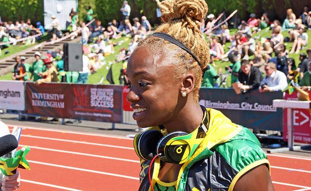Срок дисквалификации ямайской бегуньи Блэйк сокращен