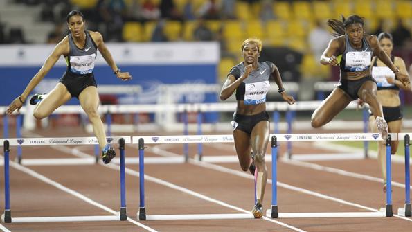 400 м (бег с барьерами)- Женщины - Доха - Бриллиантовая лига 2014 + Видео