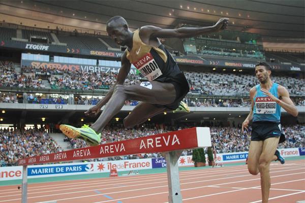 3000 м (бег с препятствиями) - Мужчины - Доха - Бриллиантовая лига 2014 + Видео