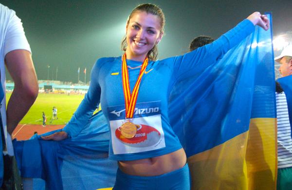 Маргарита Дорожон выиграла соревнования по метанию копья