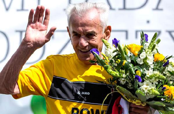 104 - летний мужчина установил рекорд на дистанции 100 м