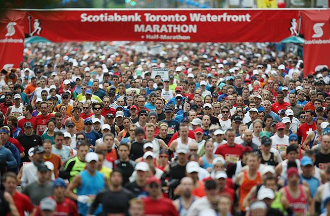 Полиция потребовала денег у организаторов марафона в Канаде