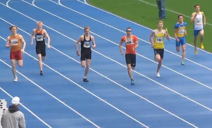 400м - Финал А - Юноши - Чемпионат Украины среди юношей 2014