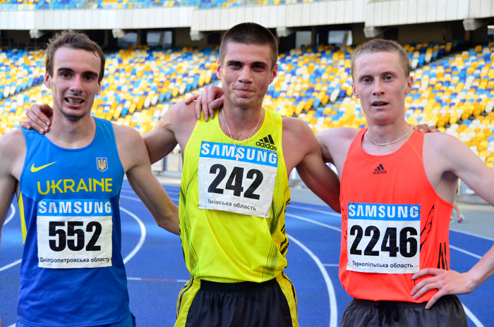 Дмитрий Лашин победитель Чемпионата Украины в беге на 10000 м