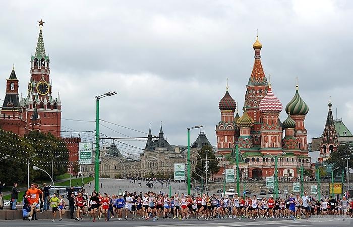 Московский марафон ожидает на прирост участников
