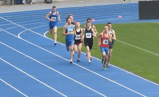 800м - Финал А - Юноши - Чемпионат Украины среди юношей 2014