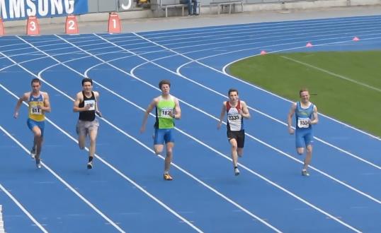 200м - Финал А - Юноши - Чемпионат Украины среди юношей 2014
