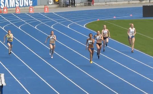 200м - Финал А - Девушки - Чемпионат Украины среди юношей 2014