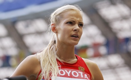 Дарья Клишина заняла пятое место в прыжках в длину в Шанхае