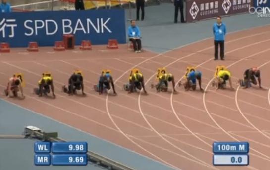 100 м - Мужчины - Шанхай - Бриллиантовая лига 2014