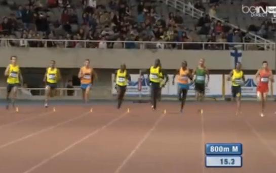800 м - Мужчины - Шанхай - Бриллиантовая лига 2014