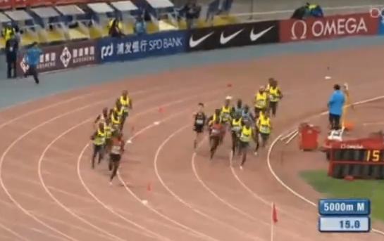 5000 м - Мужчины - Шанхай - Бриллиантовая лига 2014