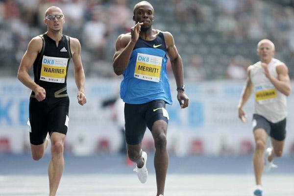 Лашоун Мерритт обновил лучший результат сезона в мире на дистанции 400 м