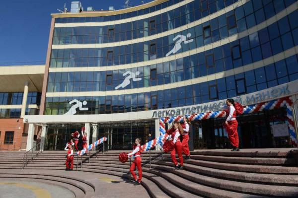 В Тюмени состоялось открытие легкоатлетического манежа