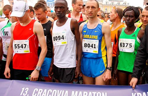 Украинец – серебряный призер марафона в Польше