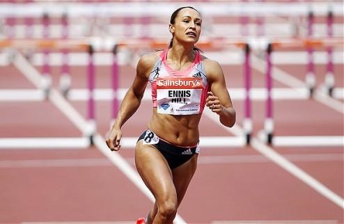 Эннис-Хилл на Играх-2016 может выступить на 100 м с барьерами