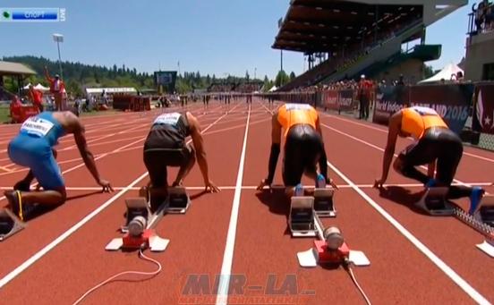 110м с/б Мужчины - Бриллиантовая лига 2014 - Юджин