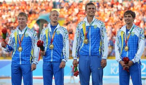 Командный чемпионат Украины. Завершились эстафетные забеги