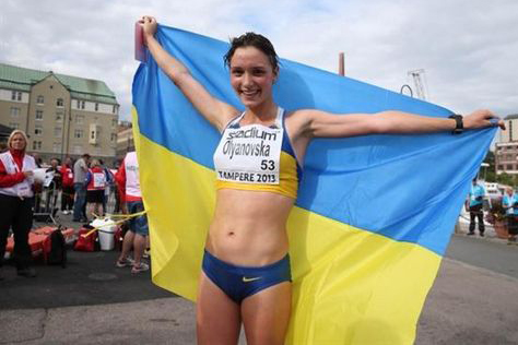 Командный чемпионат Украины. Людмила Оляновская установила национальный рекорд!