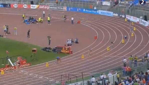400 м с/б- Женщины - Рим - Бриллиантовая лига 2014