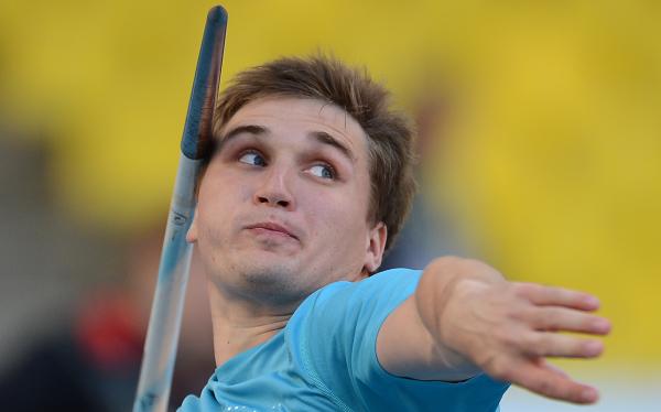 Дмитрий Тарабин стал победителем этапа Мирового вызова в Марракеше в метании копья