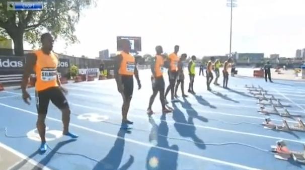 100 м - Мужчины- Нью-Йорк - Бриллиантовая лига 2014