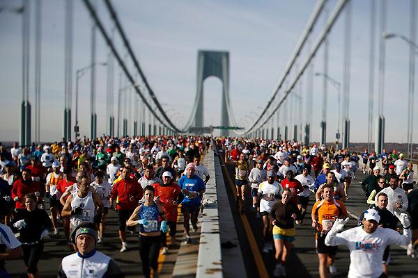 Нью-Йоркский марафон награжден премией
