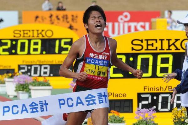Бегун-любитель установил новый рекорд Японии