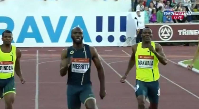 Mens 400m IAAF World Challenge Ostrava 2014