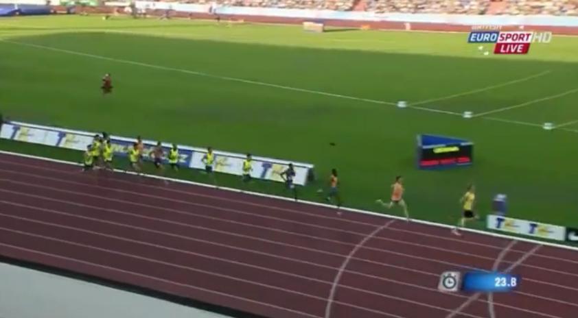 1000m Men: Ostrava Golden Spike: Ozbilen Sets Meet Record of 2:15.08